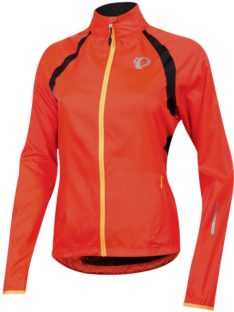 PEARL iZUMi Elite Barrier Jacket Women fiery coral/black
